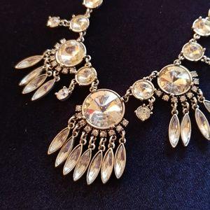 Stunning Rhinestone Necklace Wedding Holiday New